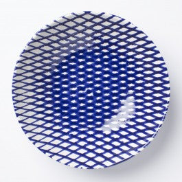 Net & Stripe Medium Serving Bowl