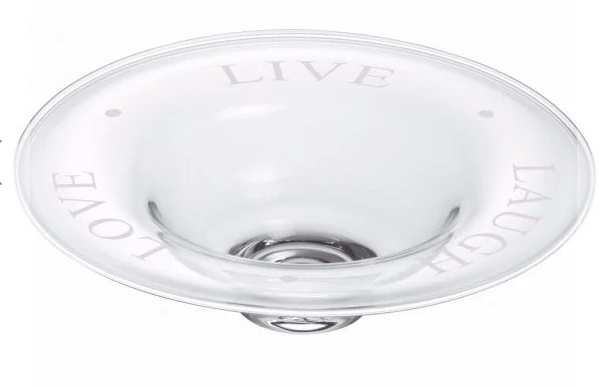 """Live Laugh Love"" Medium Bowl"