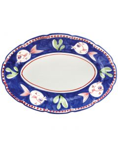 Campagna Pesce Oval Platter