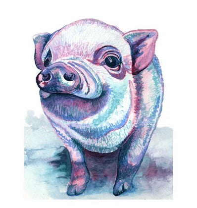 Little Piggy 11x14