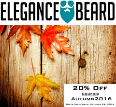 Get Your Beard Ready for Cold Weather! Autumn Discount!