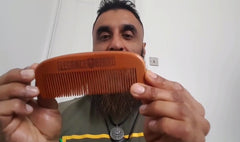 Elegance Beard Oil & Wooden Comb Review by LovedBeard 👍👌💪
