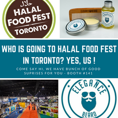 Elegance Beard at Halal Food Fest in Toronto July 2018