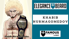 Khabib Nurmagomedov - UFC Fighter - Famous Bearded Men