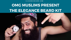 👍 OMG MUSLIMS PRESENT THE ELEGANCE BEARD KIT ☕ COFFEE BEARD BALM + COMB
