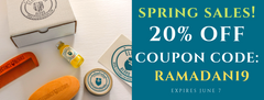 SPRING SALES 2019 - 20% OFF - RAMADAN DISCOUNT