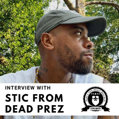 LET'S TALK ABOUT BEARDS WITH STIC FROM HIP HOP GROUP DEAD PREZ