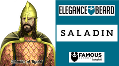 Saladin - Famous Bearded Men
