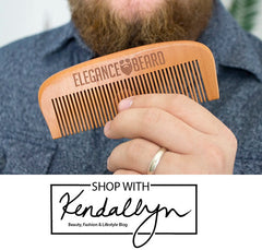 A Gift Idea for Your Bearded Dude: Elegance Beard Products - Review by Shop With Kendallyn
