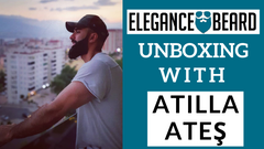 ELEGANCE BEARD PRODUCTS UNBOXING WITH ATILLA ATEŞ THE TURKISH VIKING 💪🦁