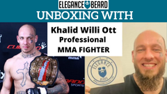 Unboxing with Khalid Willi Ott Professional MMA FIGHTER 🧔🏻 🥊