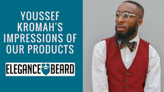 YOUSSEF KROMAH'S IMPRESSIONS OF OUR BEARD PRODUCTS | INSTAGRAM