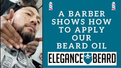 ✂️💈A Barber Shows How to Apply Our Beard Oil ✂️💈
