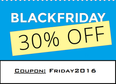 Black Friday 30% Off Flash Sale!