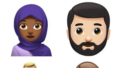 Apple's New Εmojis Include Hijab Woman and Man with Beard