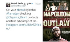 Ex-Rapper Napoleon From 2pac Outlawz Crew Supports Elegance Beard 👍👌