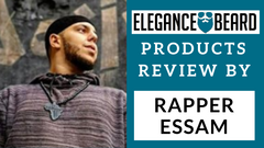 RAPPER ESSAM REVIEWS OUR VEGAN BEARD BRUSH, BEARD OIL & BEARD BALM
