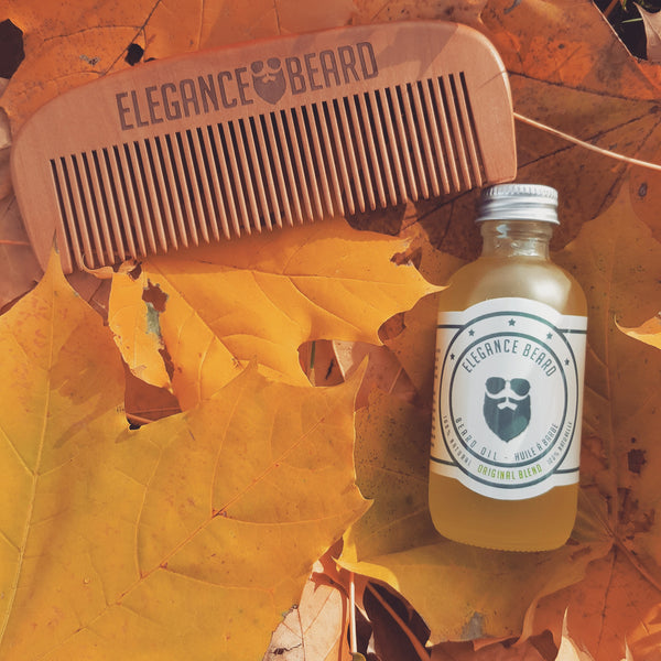 Beard Care Kit (Beard Oil + Beard Comb)