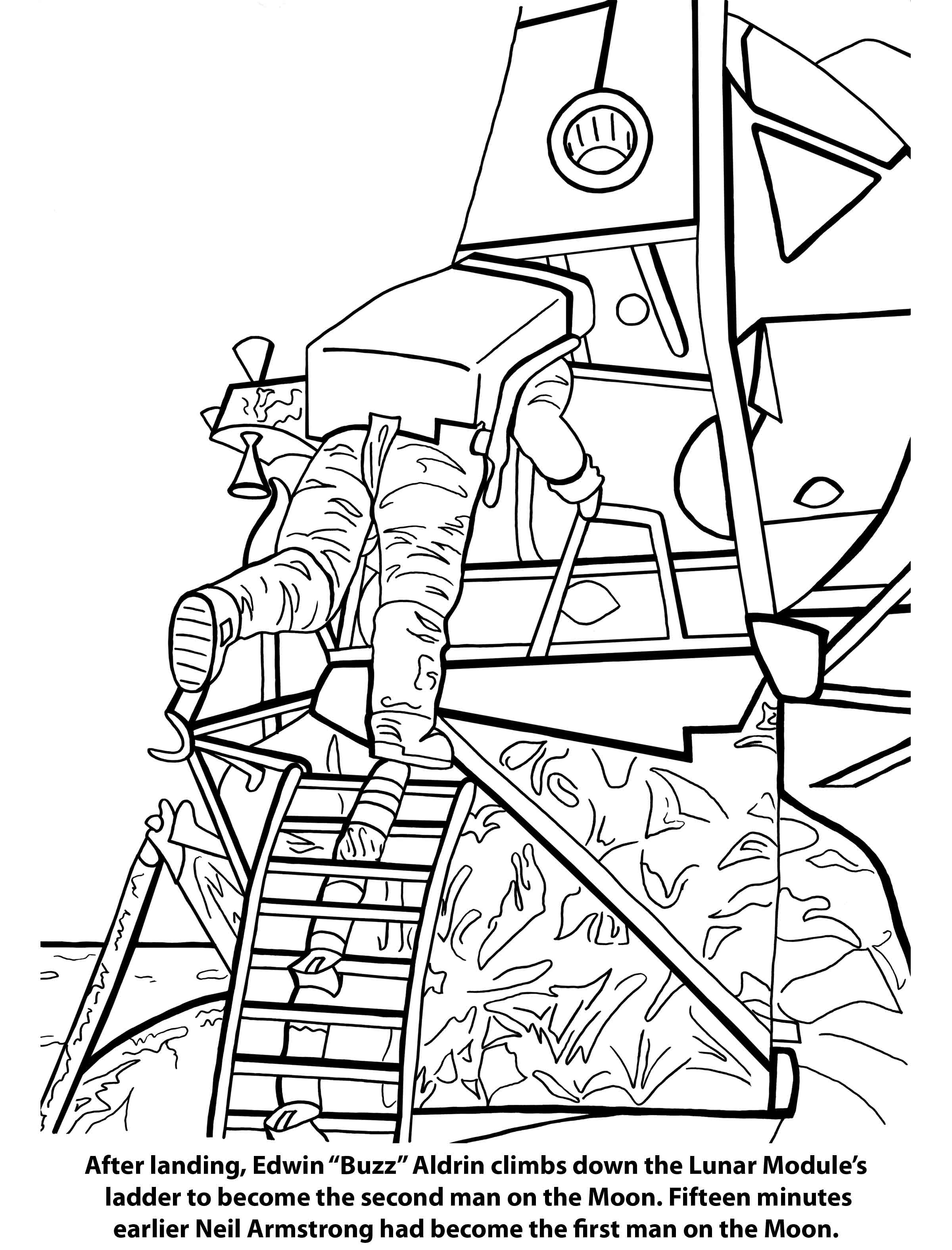 Space Coloring Pages Cont Mightytoy Com
