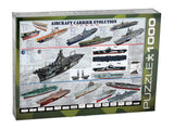 Aircraft Carrier Evolution Jigsaw Puzzle - 1,000 Pieces