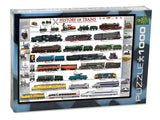 History of Trains Jigsaw Puzzle - 1,000 pieces