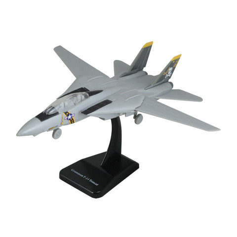Highly Detailed 1:72 Scale Plastic Model Kit Replica of a Northrup Grumman F-14 Tomcat Sweep Wing Fighter Aircraft with Detailed Markings and Display Stand that Includes Everything Needed for Assembly.