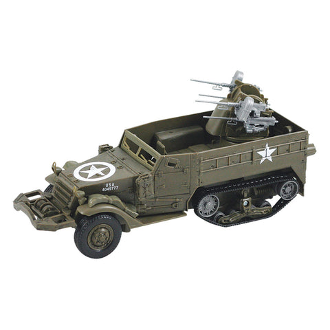 InAir E-Z Build Classic Armour Model Kit - M16 Half Track - 1:32 Scale