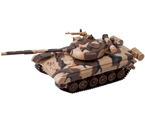 Modern Tank Battery-Operated Model Kit - T80 Tank - 1:32 Scale