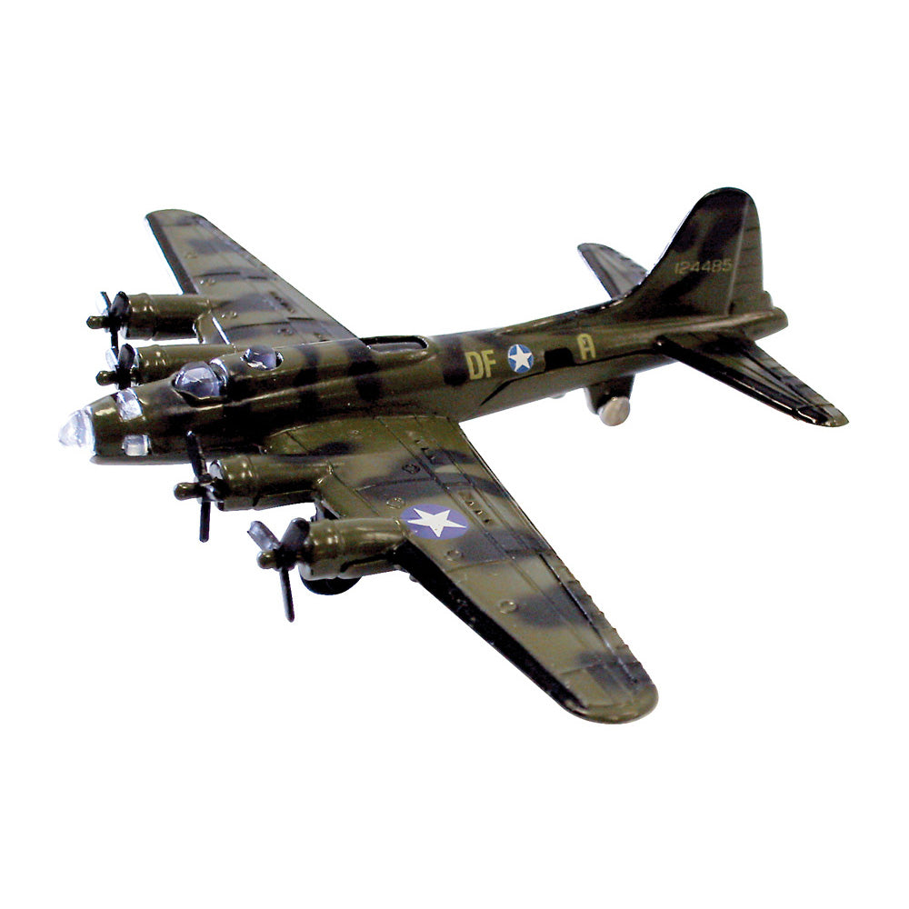 Boeing B-17 Flying Fortress diecast metal WW2 toy airplane InAir Diecast Flyer