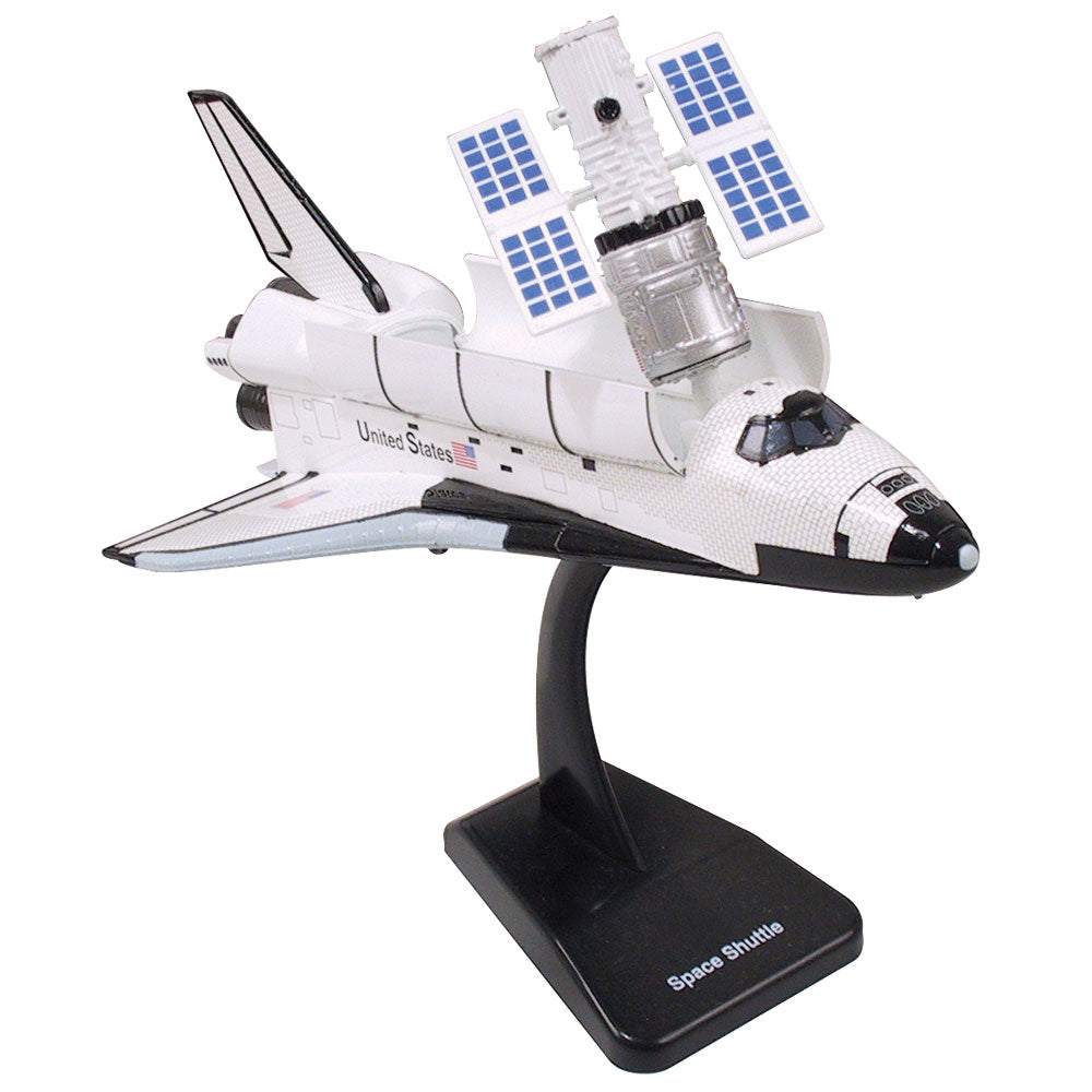 Highly Detailed Plastic Model Kit Replica of the NASA Space Shuttle Orbiter (Enterprise, Columbia, Challenger, Discovery, Atlantis & Endeavour) with Detailed Markings, Display Stand and Astronaut that Includes Everything Needed for Assembly.