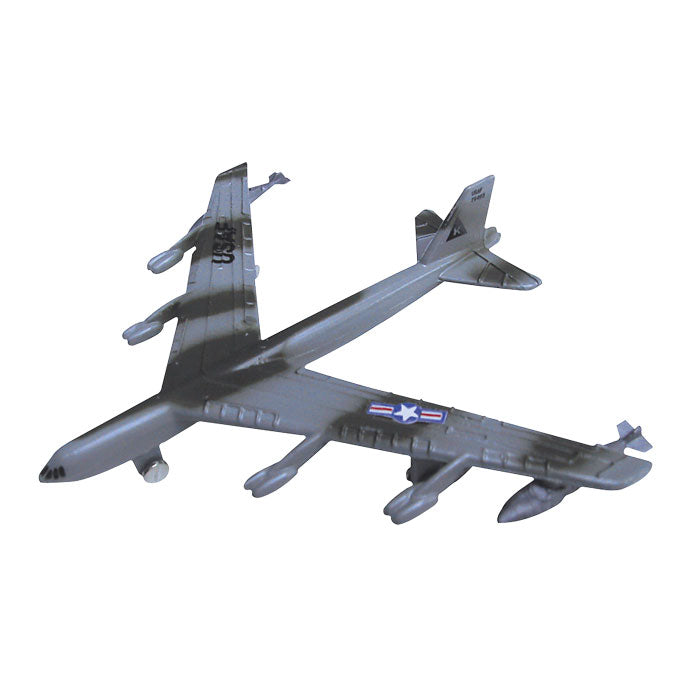 3.5 Inch Small Die Cast Metal Boeing B-52 Stratofortress Long Range Bomber Aircraft with Authentic Markings and Details by RedBox / Motormax.