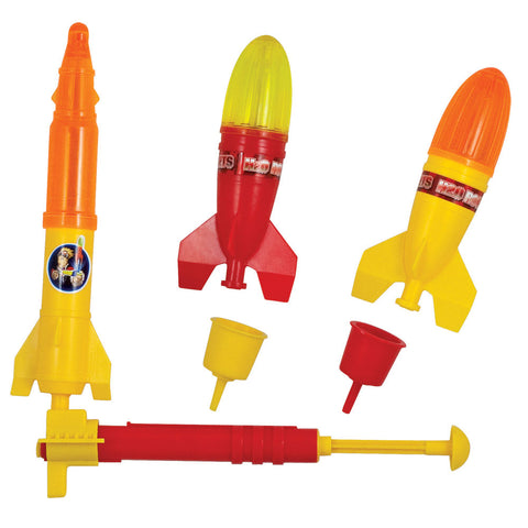 Prop Shots Deluxe H20 Rocket, 3 Piece Set