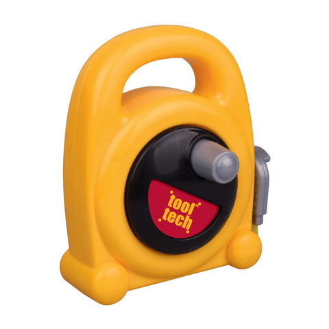 Durable Plastic Jumbo Yellow Retractable Tape Measure for Kids with a Convenient Carry Handle and 63 Inch Soft Flexible Measuring Tape by RedBox / Motormax.