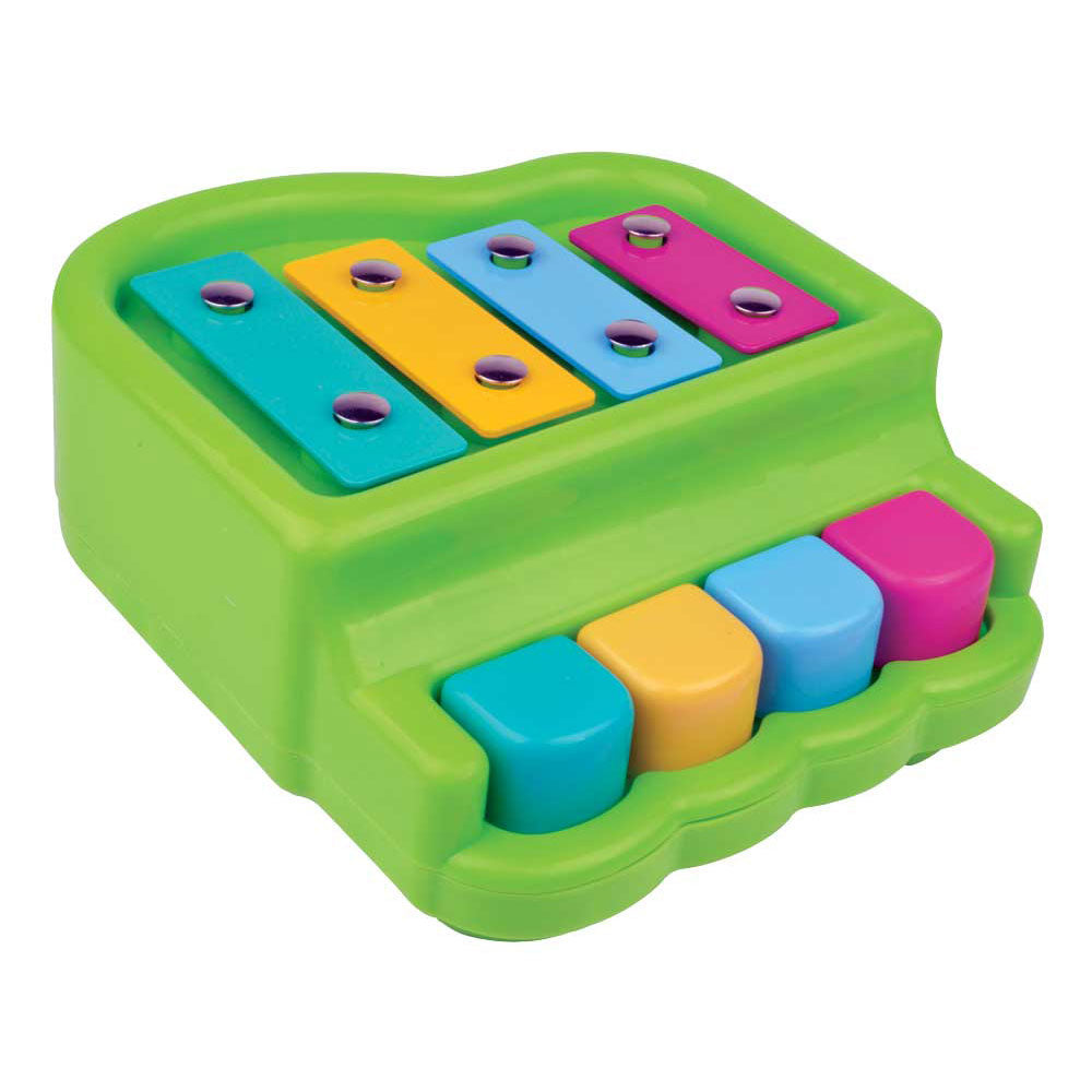 Durable Plastic Colorful Children's Musical Instrument Piano with 4 Keys.