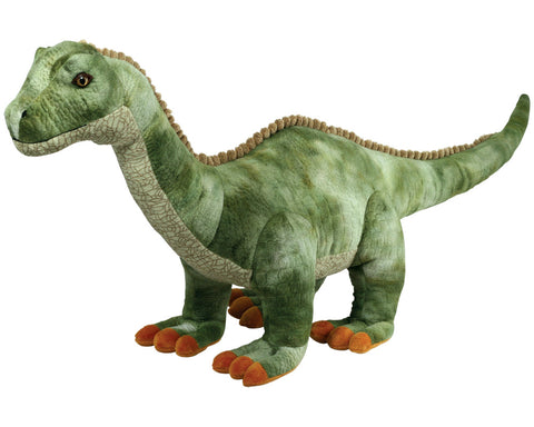 Super Soft Highly Detailed Jumbo Plush Stuffed Animal Dinosaur: Apatosaurus also known as the Brontosaurus measuring 36 inches long by Cuddle Zoo.