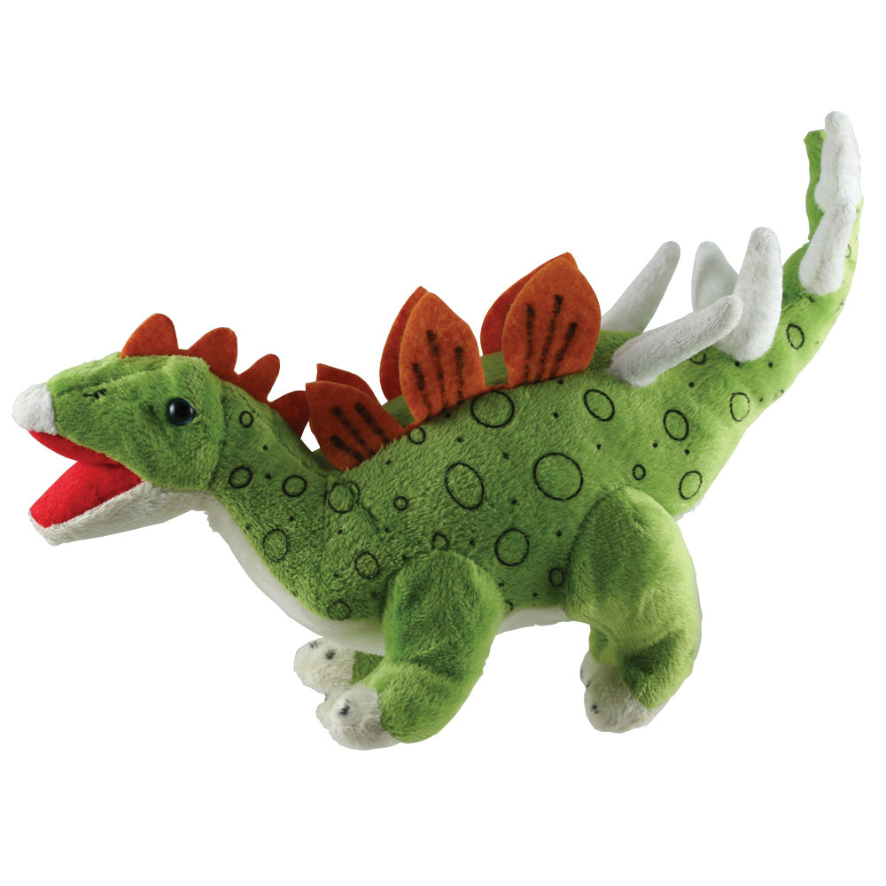Super Soft Highly Detailed Plush Stuffed Animal Dinosaur: Kentrosaurus measuring 12 inches long by Cuddle Zoo.