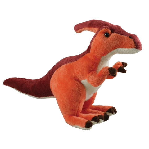 Super Soft Highly Detailed Plush Stuffed Animal Dinosaur: Parasaurolophus measuring 12 inches long by Cuddle Zoo.