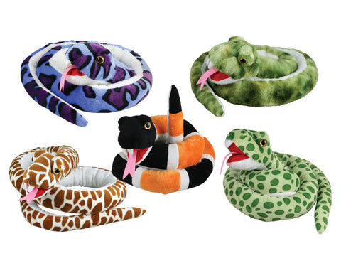 Cuddle Zoo - Snakes - SET of 5
