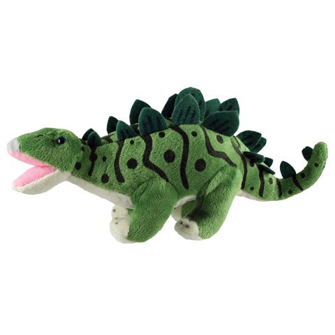Super Soft Highly Detailed Plush Stuffed Animal Dinosaur: Stegosaurus measuring 12 inches long by Cuddle Zoo.