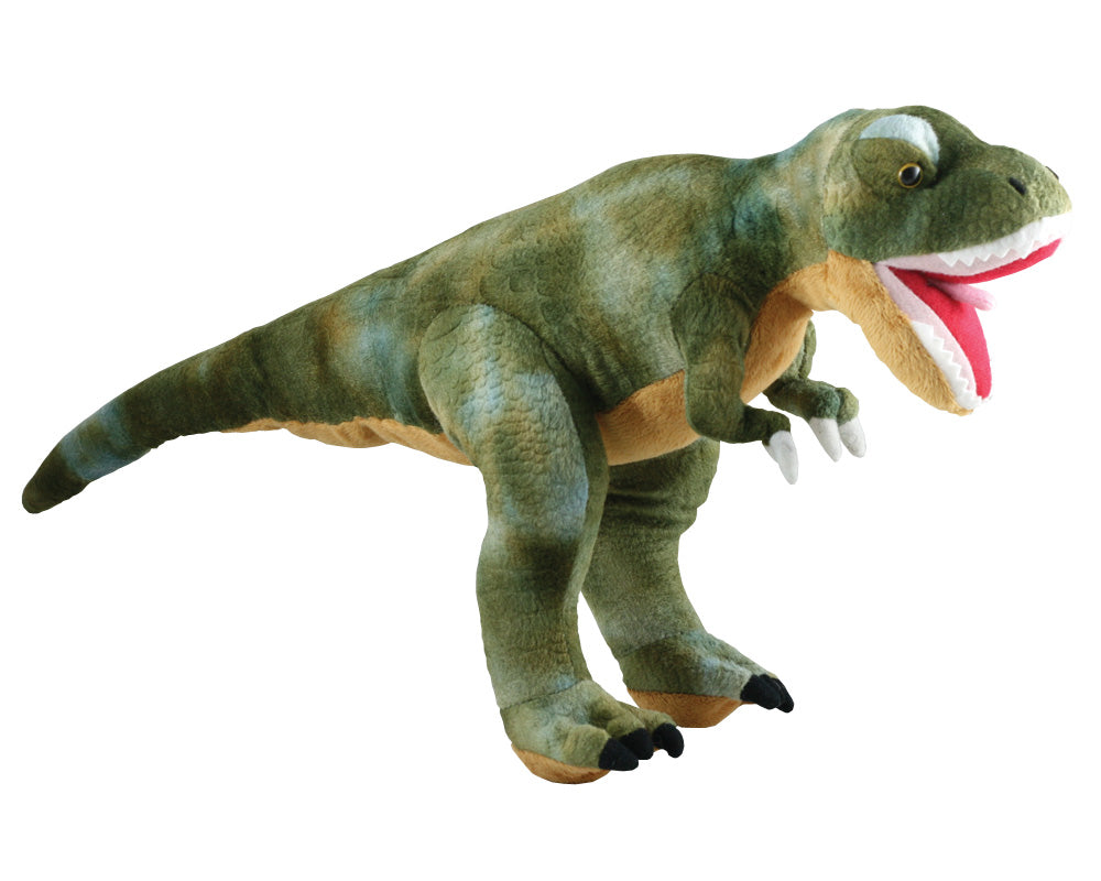 Super Soft Highly Detailed Plush Stuffed Animal Dinosaur: Tyrannosaurus T-Rex measuring 20 inches long by Cuddle Zoo.