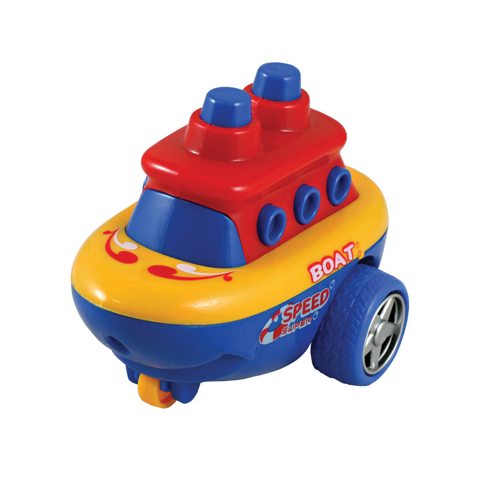 Bump & Go Boat - Assorted Colors