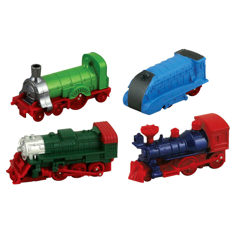 Friction Powered Mini Locomotive - SET of 4