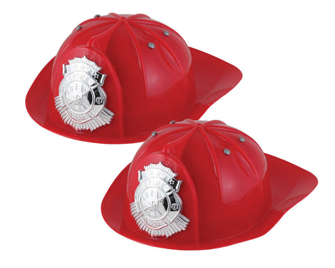 Jr. Fire Chief Helmet - 2-Pack