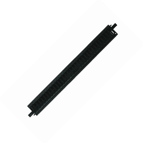 1 Piece of Durable Plastic Replacement Snap Together Straight Track to be used with the 10-Piece WowToyz Scout Series Hobby Model Train Sets.