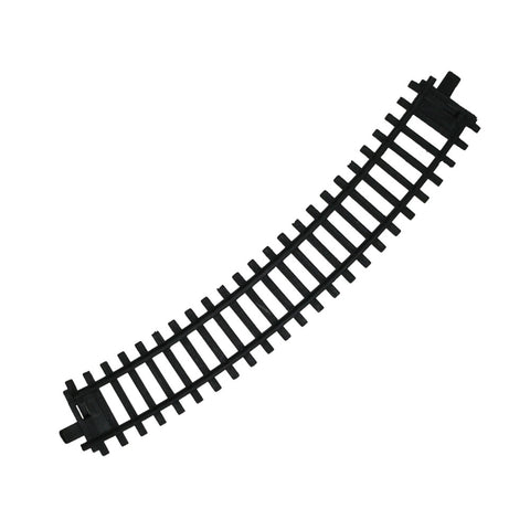 1 Piece of Durable Plastic Replacement Snap Together Curved Track to be used with the 14, 20 or 40 Piece WowToyz Classic Hobby Model Train Sets.