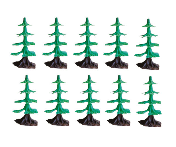 WowToyz Classic Train Set - Trees - SET of 10