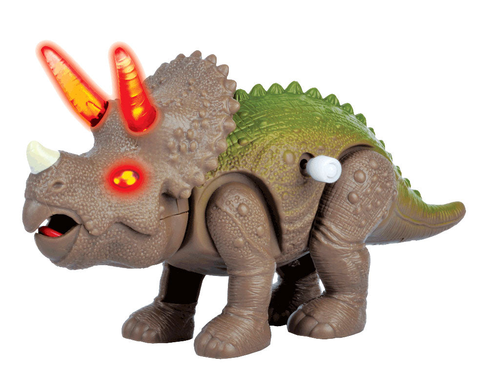 Lights & Sounds Wind-Up Triceratops