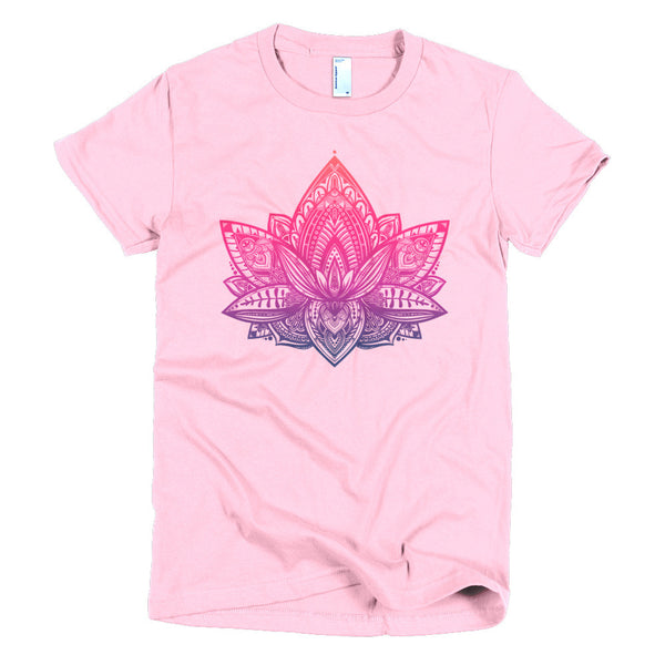 Spirit Flower Short Sleeve Women's T-Shirt