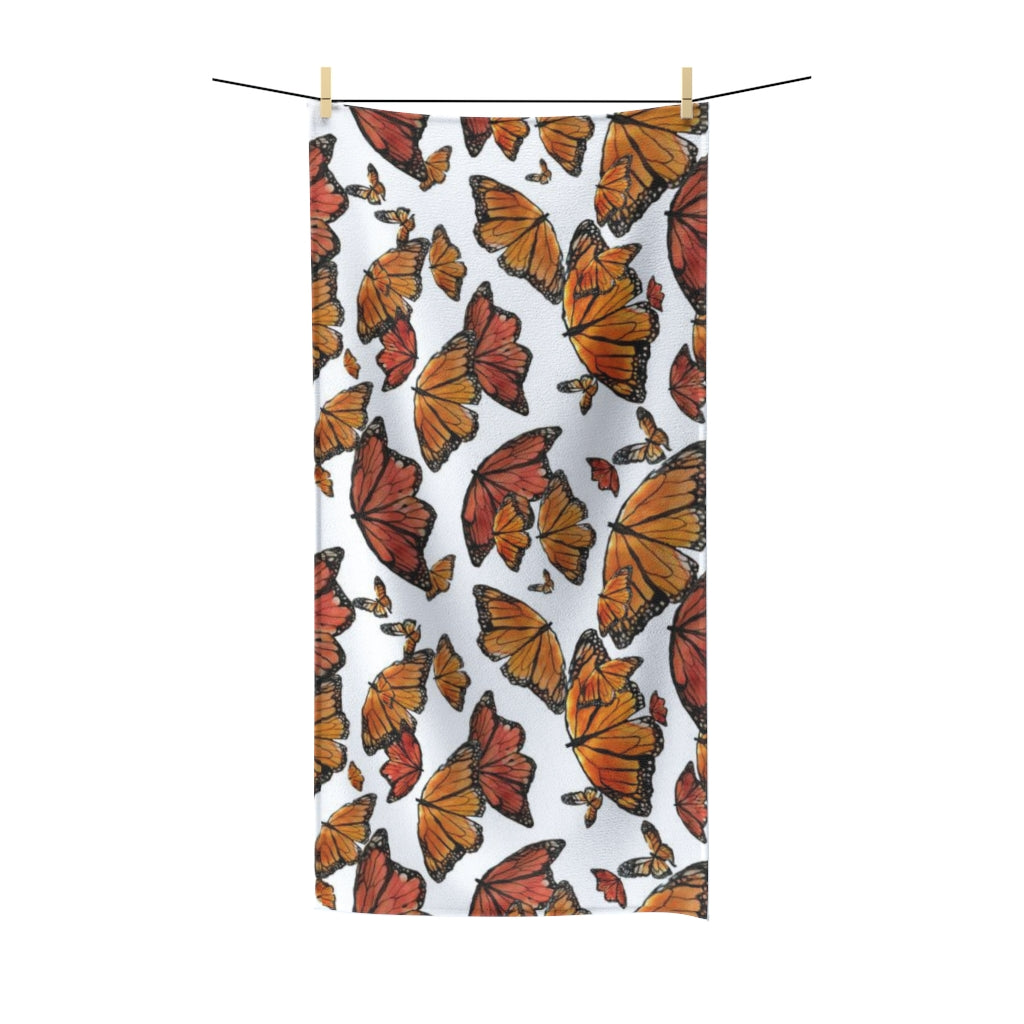 Beautiful Day Butterfly Polycotton Towel