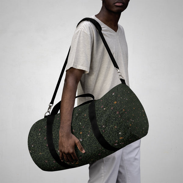Midnight Meadow Duffel Bag